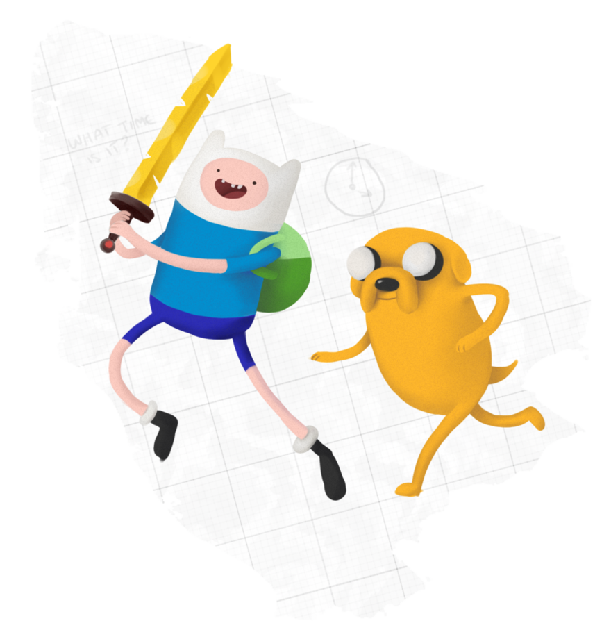 Finn and Jake adventure time fanart